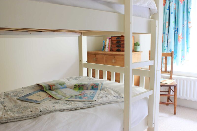 Attic bunk room