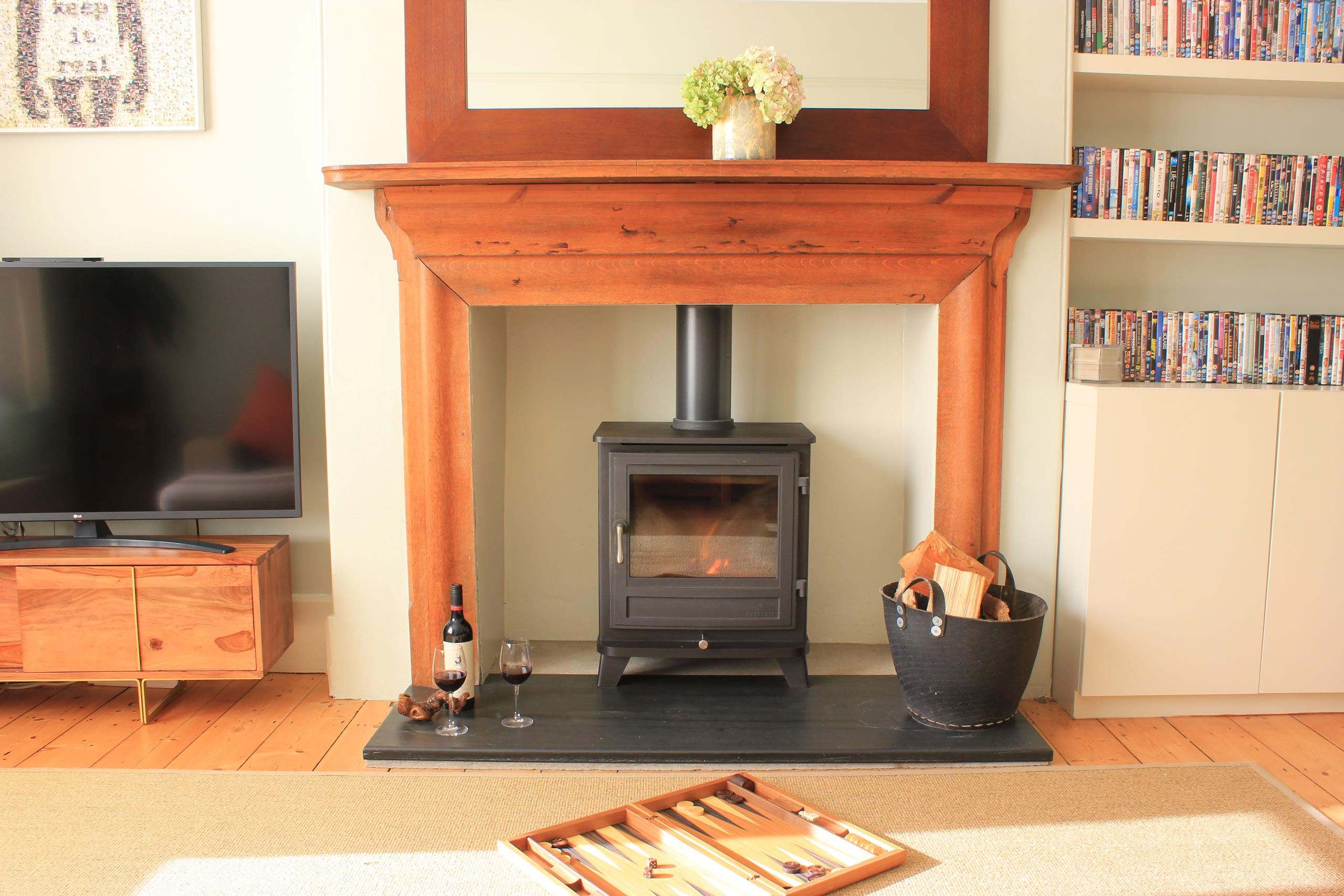 Cosy fires and wood burners