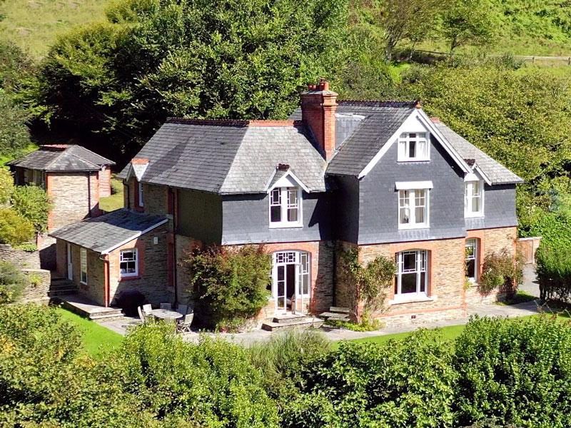 Front of house version Front of house version | The Old Vicarage | Lee, North Devon