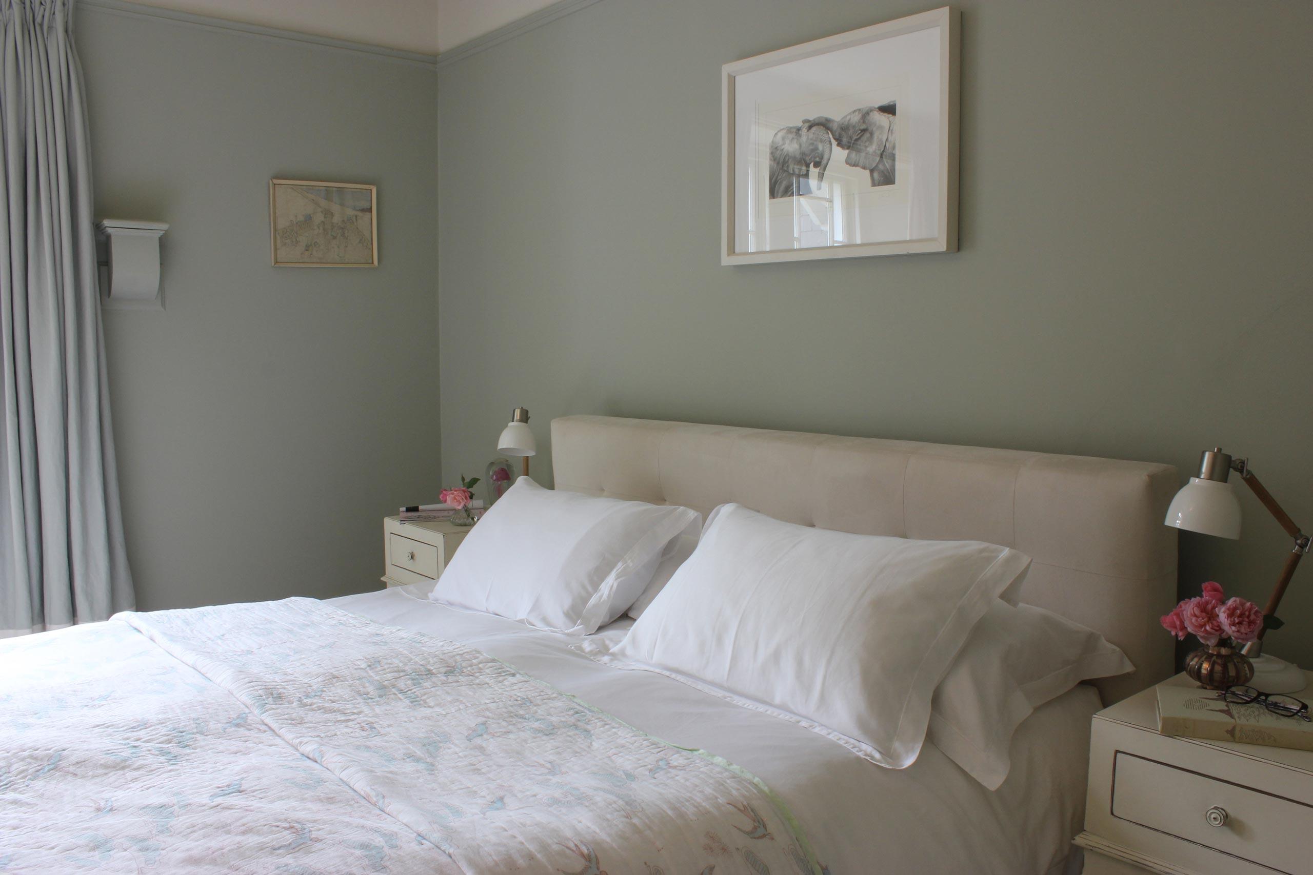 Main bedroom bed to window new